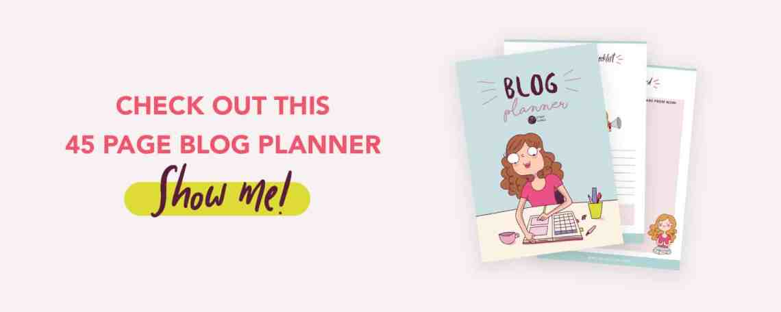 blog planner from stray curls