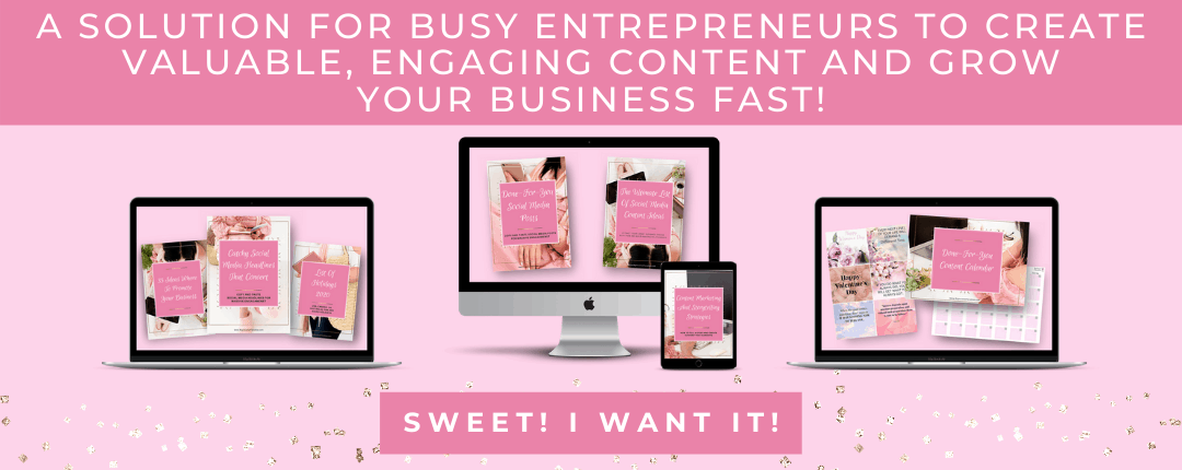 A Solution For Busy Entrepreneurs To Create Valuable, Engaging Content And Grow Your Business FAST!