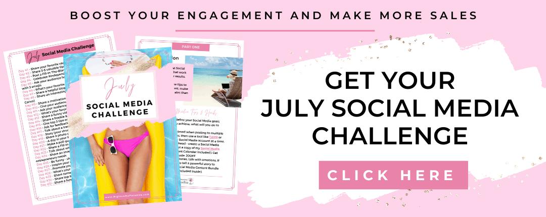 July Social Media Challenge