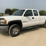 2006 Gmc Sierra 2500hd 2wd Extended Cab 4 Door Pickup Bigiron Auctions