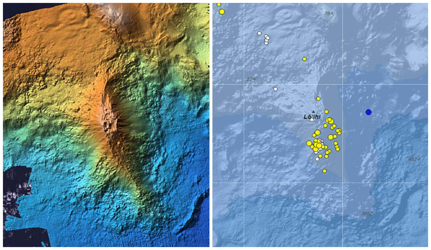 Hvo Logs Renewed Seismic Activity At L Ihi Volcano