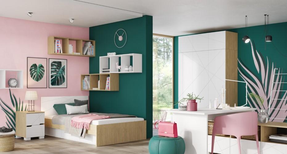młodzieżowy pokój dla dziecka