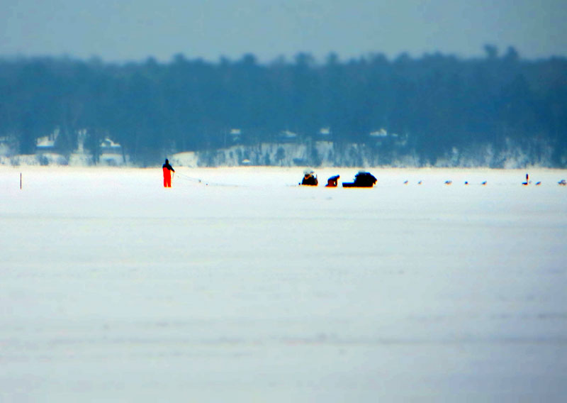 A weekend ice fishing on lake superior big kype for Lake superior ice fishing