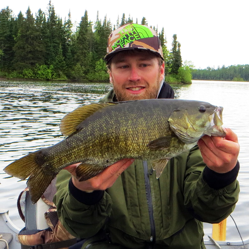 "20"" Smallmouth Bass Basswood Lake Boundary Water Canoe Area"