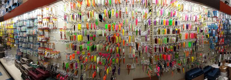 lake trout trolling spoon selection