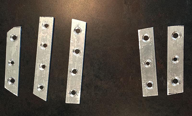 DIY Aluminum Bar Rock Grips