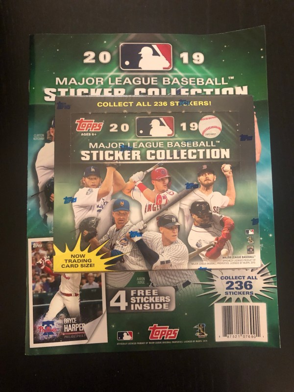 Inside the Pack: 2019 Topps MLB Sticker Collection Review