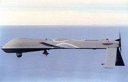 The RQ-1 Predator Drone drops Hellfire missiles