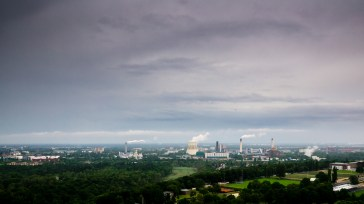 berlin, siemensstadt, kraftwerk reuter, panorama,