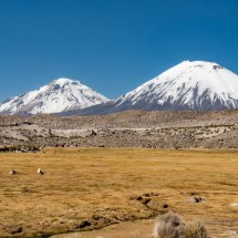 Parinacota Volcano, Chile