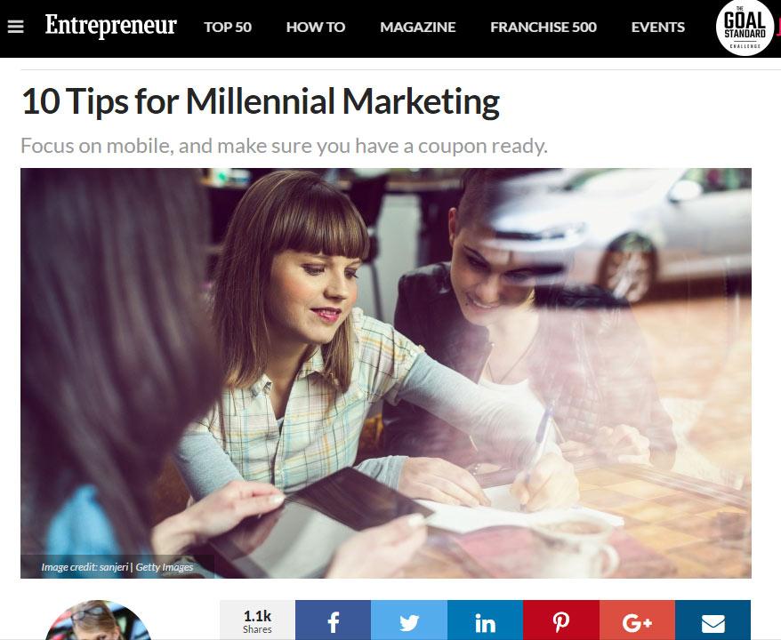 Trends in Social Media Marketing: Entrepreneur Magazine Article Review: