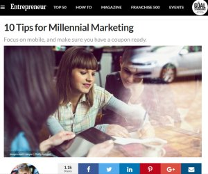 Trends in Social Media Marketing: Entrepreneur Magazine Article Review: