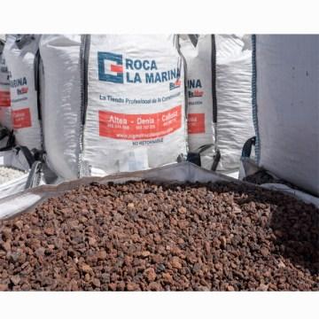 Bigbag piedra volcánica 10-25 por 63,40€/saca