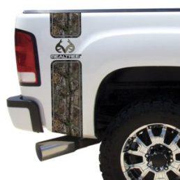 Camo Truck Accesories Decals