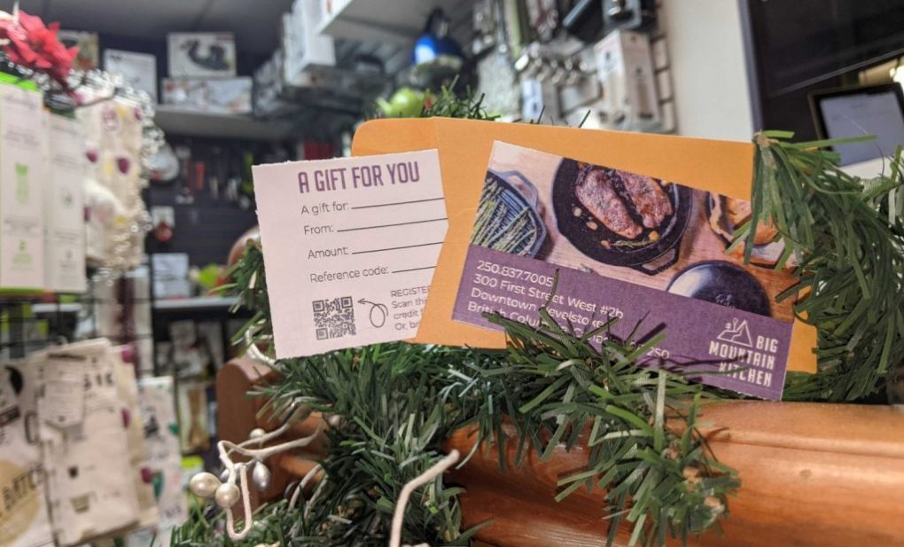 gift voucher available in store and online