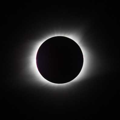 This and the next two images are similar, but show slight differences in what we see of the corona.