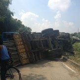 The daily truck crash (Purnia, India)