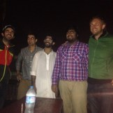 Moin's fan club at Cooco's (Lahore, Pakistan)