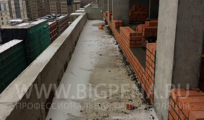 Гидроизоляция балкона мансарды гидроизоляционной мастикой