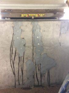 Инъектирование эпоксидной смолы в трещины
