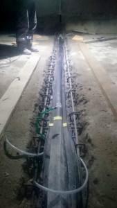 ремонт гидрошпонки деформационного шва