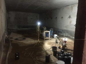 Гидроизоляция рабочих швов бетонирования инъектированием полиуретановых смол