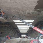 Гидроизоляция автомобильного тоннеля ЗСД