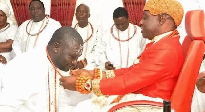 Olu Of Warri Installs Ayirimi Emami As New Ologbotsere