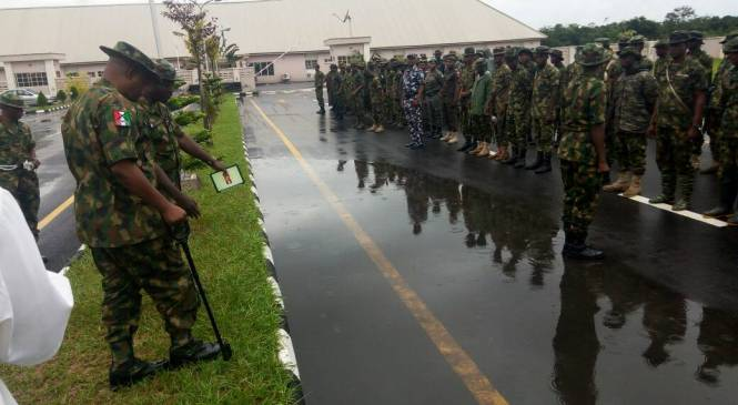 Operation Crocodile Smile: Troops Storm Sapele, Jesse, Oghara, Charge To Follow Rule Of Engagement