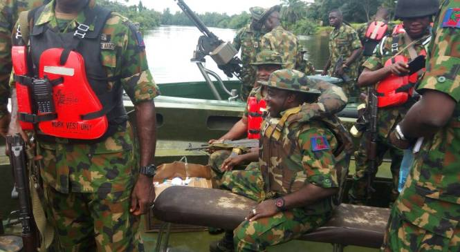 See Army As Your Friend, JTF Boss Tells Residents As Army Undertakes Medical Exercise In Delta Communities