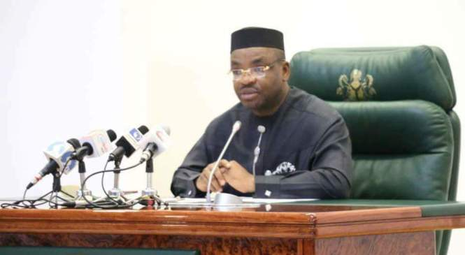 Akwa Ibom Governor Disowns Aide Over Buhari's Cow Comment