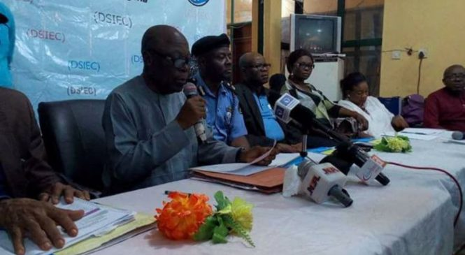 DSIEC Reschedules Election In Ughelli North, Ethiope East For Tuesday, Declares PDP Winner In 22 Councils
