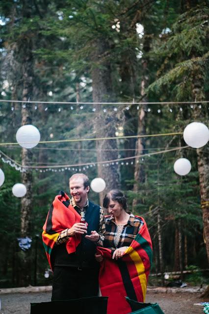 Happy Anniversary To Us! Our Lovely, Rustic, Zero Waste Mt. Rainier Wedding