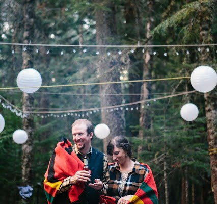 Happy Anniversary To Us! Our Lovely, Rustic, Zero Waste Mt. Rainier Wedding