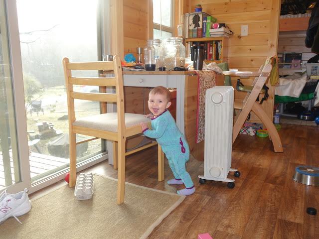 Tiny Human, Tiny House– Raising a Baby in Our Tiny House.