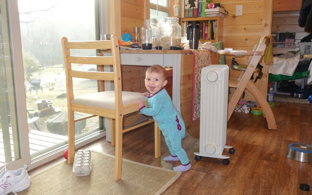 Tiny Human, Tiny House– Raising a Baby in Our Tiny House.