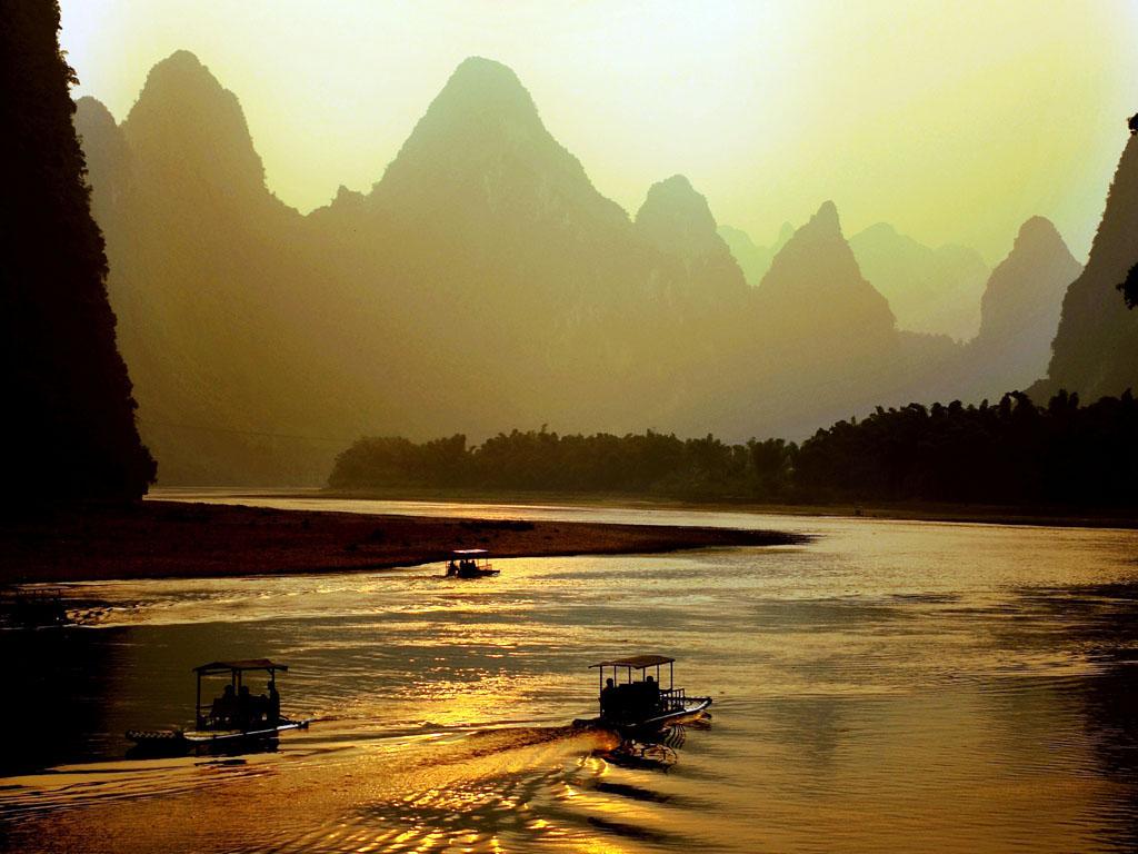 0 870a2  Живописная река Ли