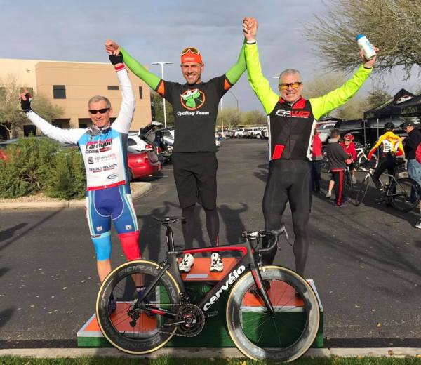 Bob Francis took 2nd in the 50+ Avondale Criterium! Great job!