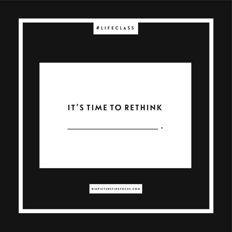 "Welcome to fill-in-the-blank Friday! This week's #fitb is ""It's time to rethink _______."" Post your responses in the comment section or feel free to respond via Twitter or shoot me a message. Let's get the conversation going!"