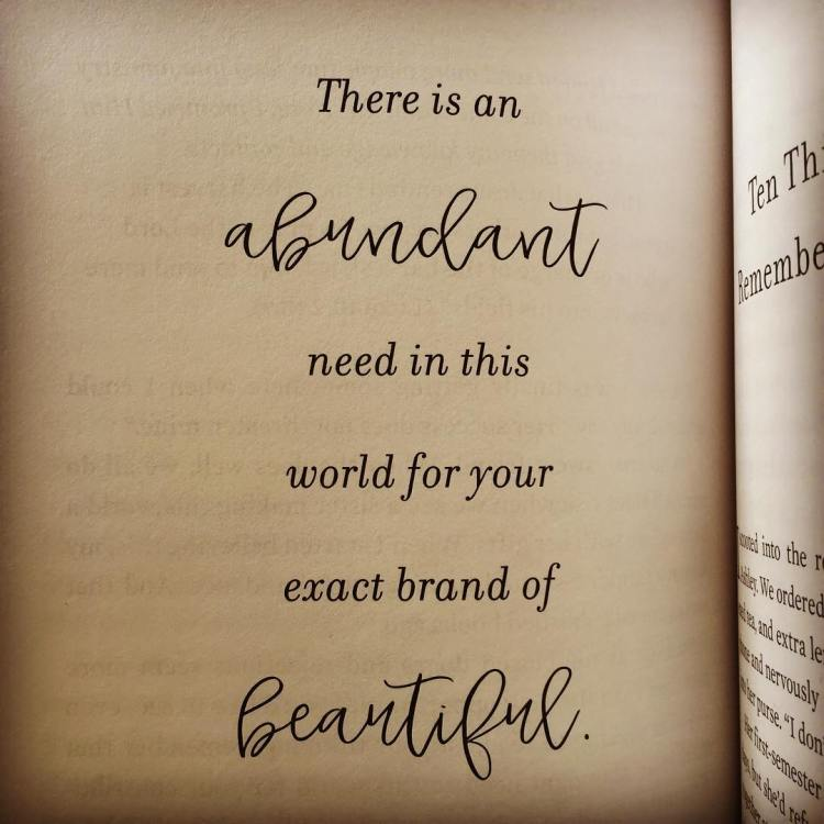 This one is for you, me, and all of us. Thank you @lysaterkeurst for this reminder. #uninvited #univitedbook