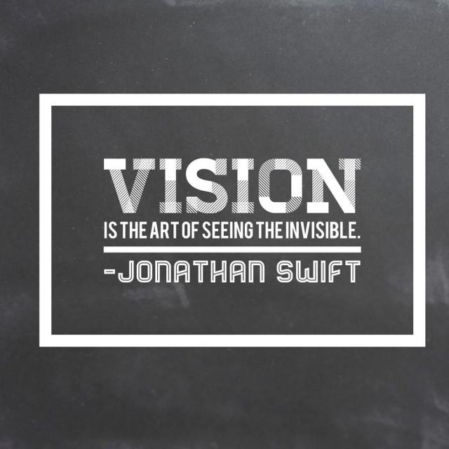 Sight is from the head Vision is from the hearthellip