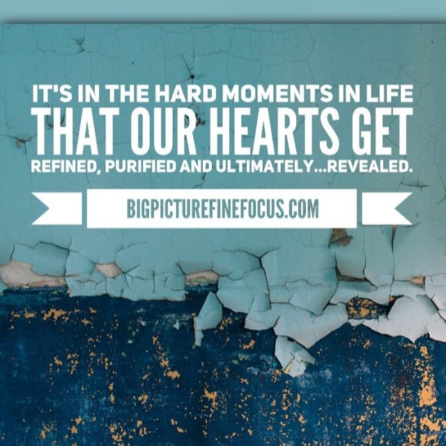 Its in the hard moments in life that our heartshellip
