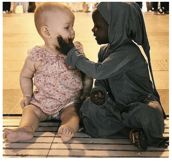 Love sees no colour