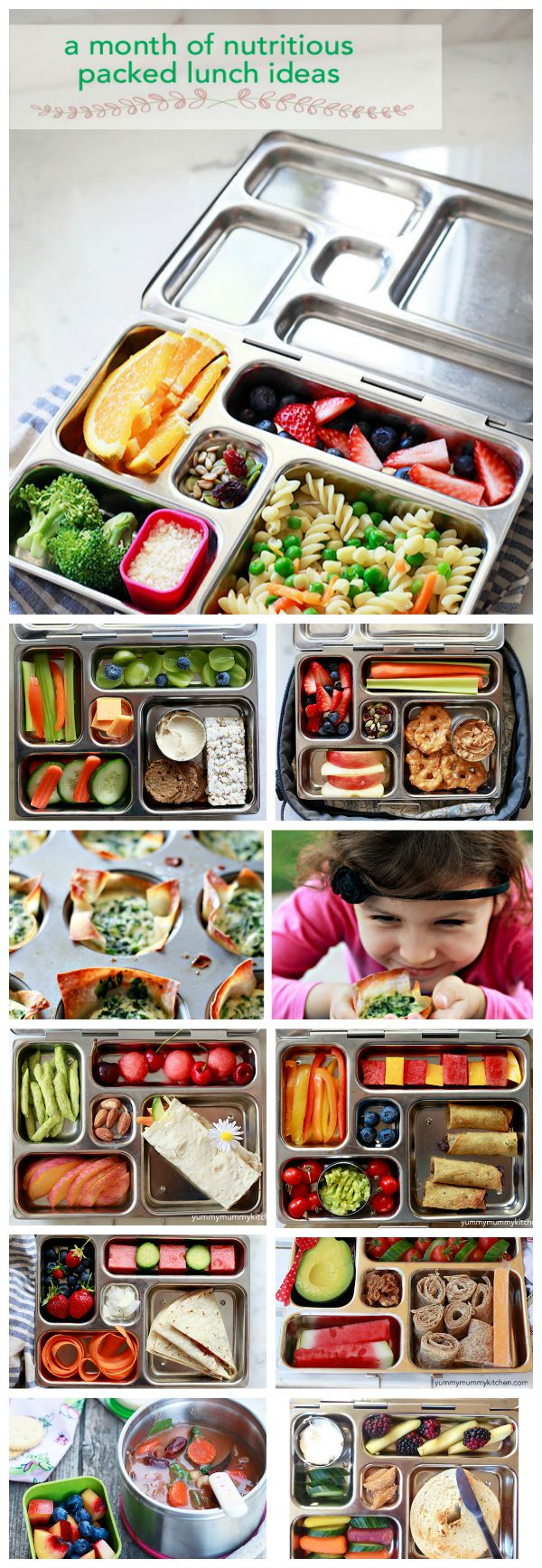 a month of lunches