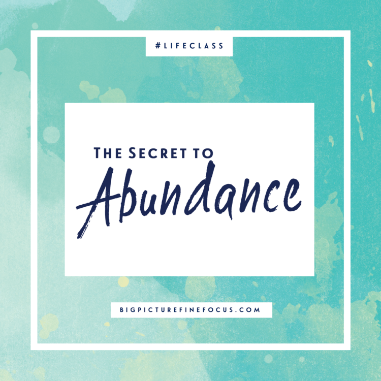 the-secret-to-abundance
