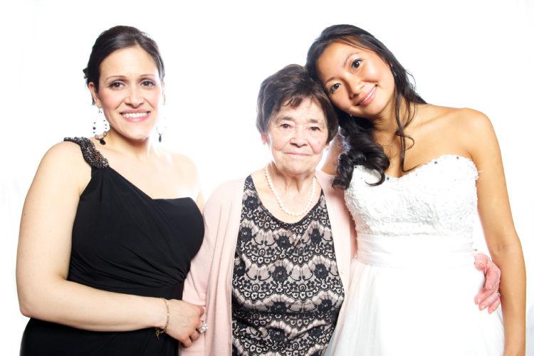 esterina, nona, and joann