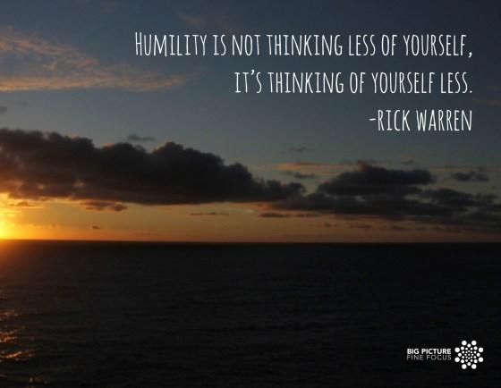 humilty-rick warren