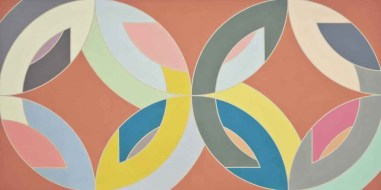 frank_stella_saskatoon_ii_1968 - Color Field, Abstract Expressionism