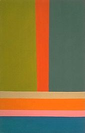 Jack Bush, 1969 - Color Field, Abstract Expressionism