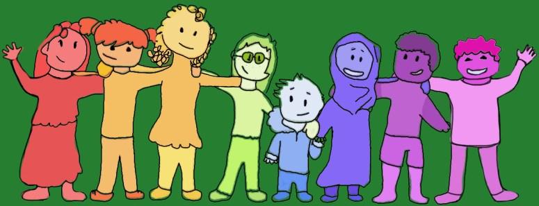 multicultural kids line